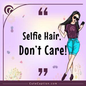 Cute Selfie Instagram Captions