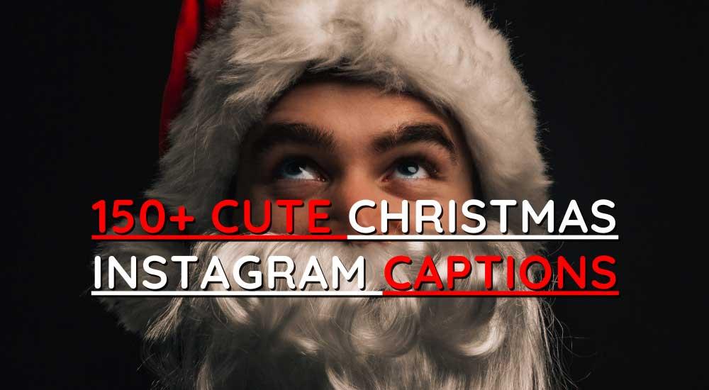 Cute Christmas Instagram Captions